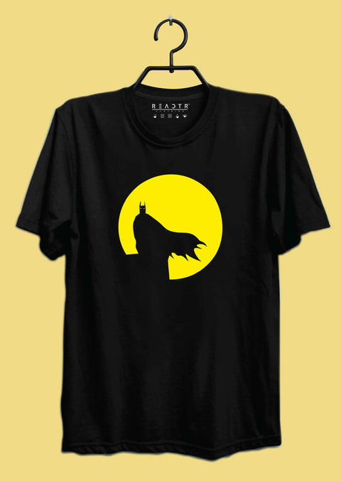 Minimal Batman Reactr Tshirts For Men - Eyewearlabs