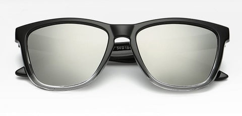 Durand Silver (Biker's Mirror) Reactr Sunglasses - Eyewearlabs