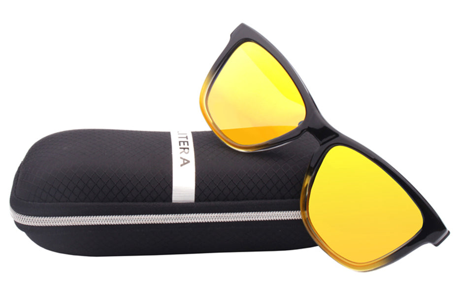 Durand Yellow Js Film Eyewear - Eyewearlabs