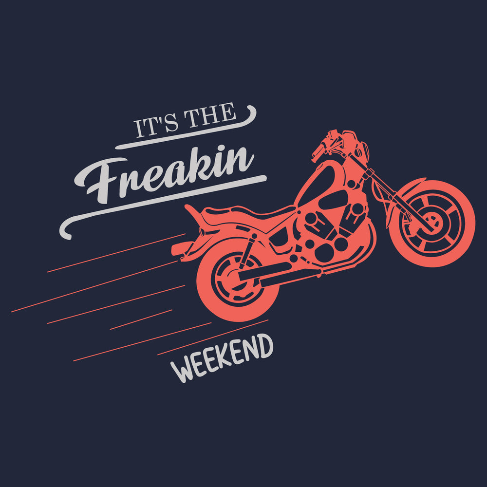 It's The Freakin Weekend Reactr Tshirts For Men - Eyewearlabs