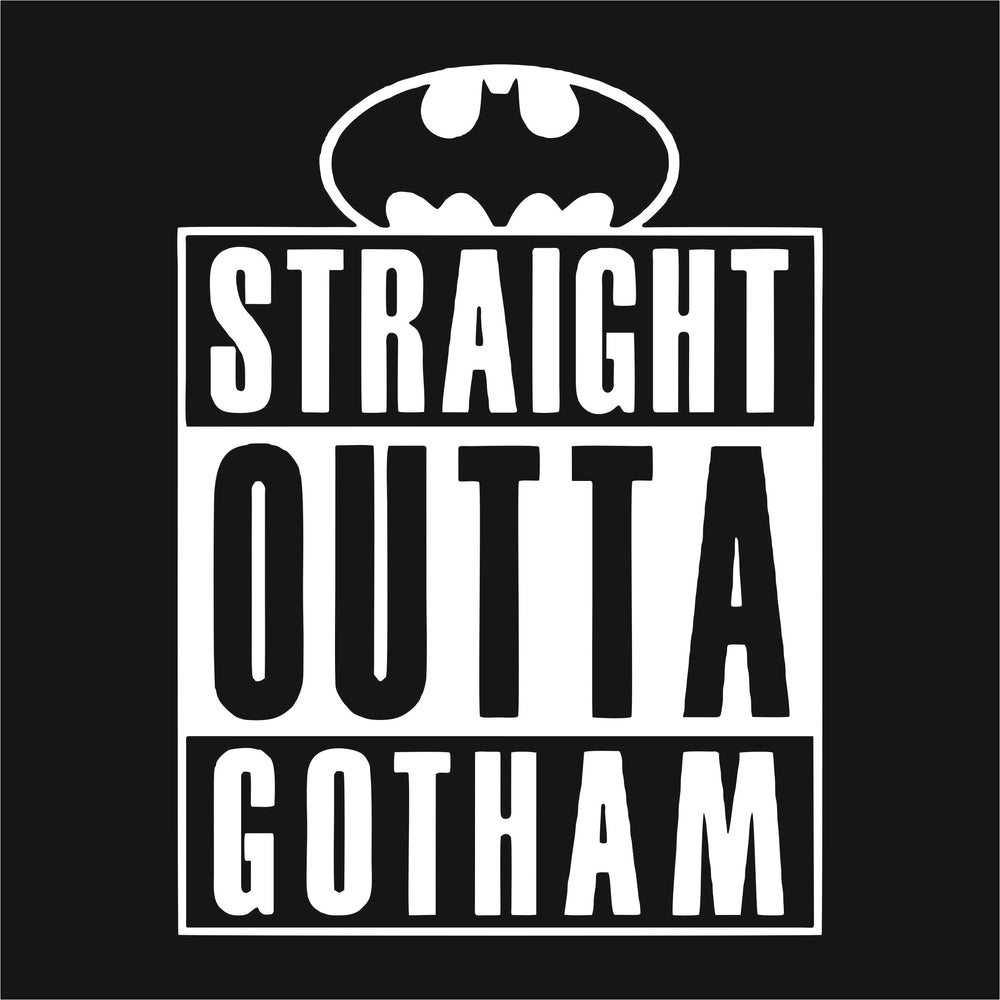 Straight Outta Gotham Reactr Tshirts For Men - Eyewearlabs