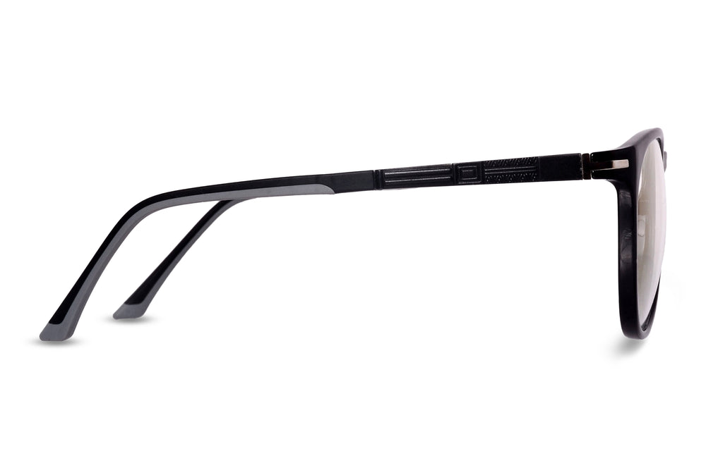 Wilkie-C1 Glossy Black Eyewearlabs Blu Block Eyeglasses - Eyewearlabs