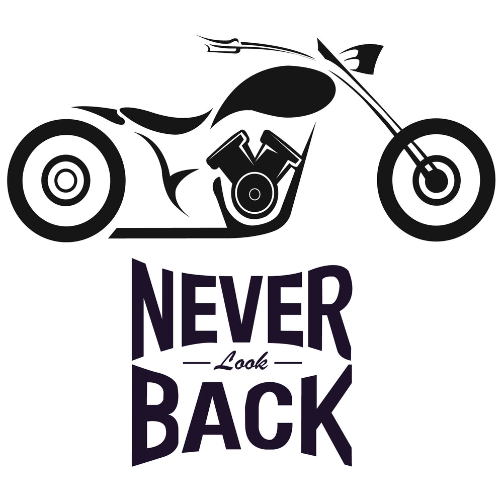 Never Look Back Reactr Tshirts For Men - Eyewearlabs