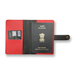 Red Passport Cover (With Strap) - Eyewearlabs