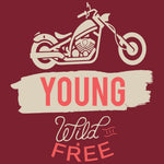 Young Wild and Free Reactr Tshirts For Men - Eyewearlabs