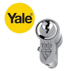 Yale KM Superior 1 Star Euro Cylinder - Keyed Alike Pairs - 2UDirect.co.uk