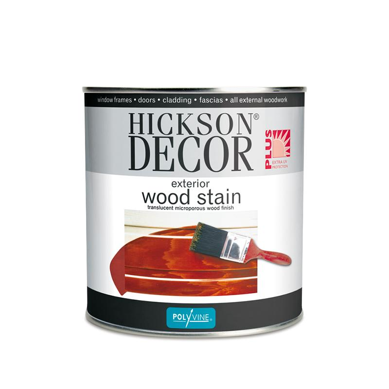 Hickson Decor Wood Stain - 1 Litre - 2UDirect