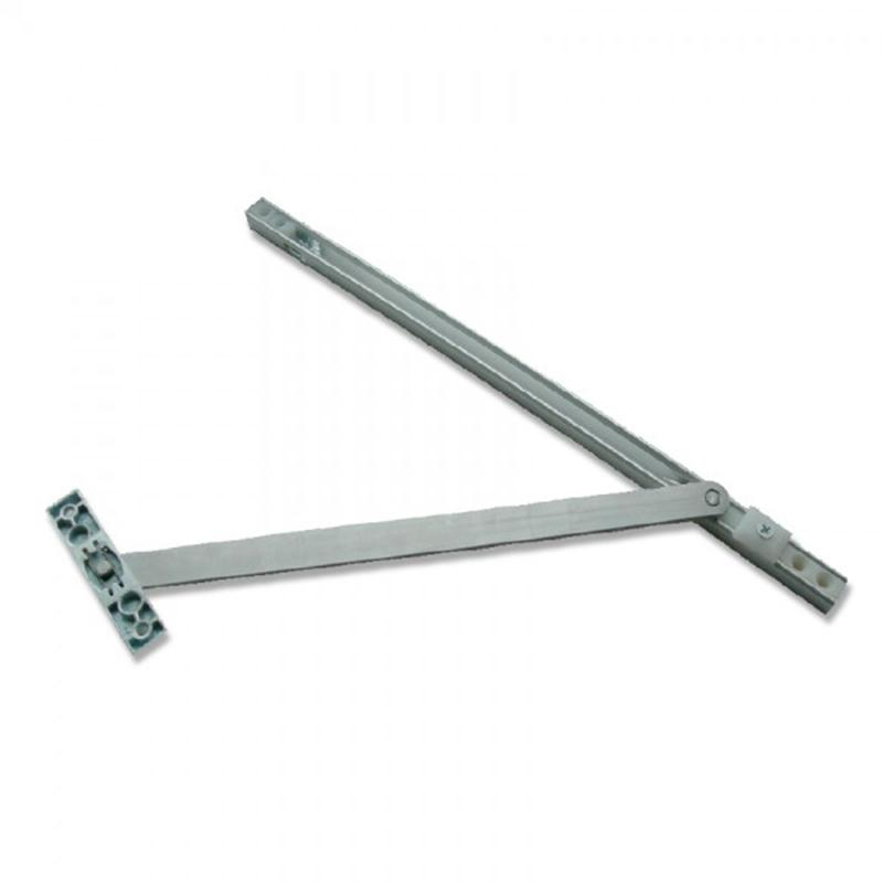Hold Open Door Restrictor 500 mm Standard Steel Arm - 2UDirect