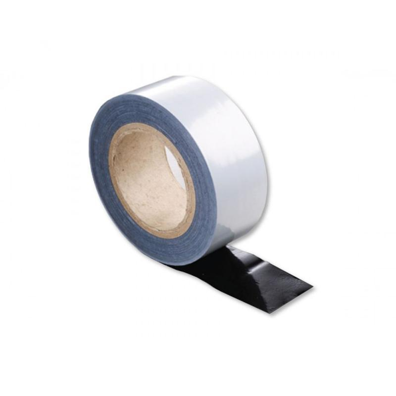 Low Tack Protection Tape Black / White - 2UDirect.co.uk