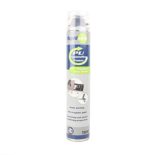 Rapidseal PU Foam 750ml Gun Grade - 2UDirect.co.uk