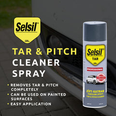 Selsil Tar & Pitch Cleaner Spray 200ml