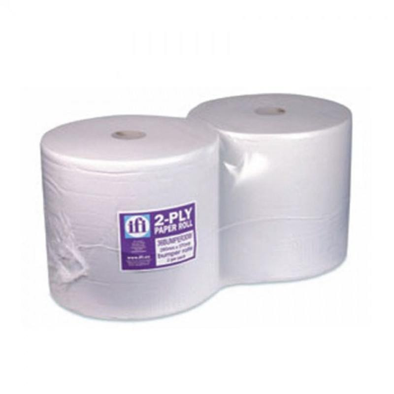 Twin Pack - 2 Ply 370metres 1000 Sheets