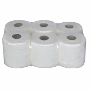 Budget Pack - 2 Ply Embossed, 6 Roll Pack