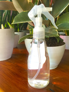 Plant Water Mister - Clear Spray Bottle - 7oz / 200ml - gardening tool - Pretty in Green Plants