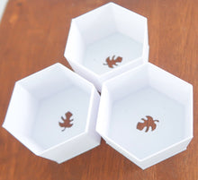 "HoneyComb Set of 3D Printed BioPots™️ - Set of 3"" Plant Pots with Drainage & Saucers"
