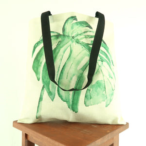 Monstera Tote Bag - Ships Free!