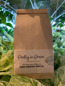 Organic Perlite - garden supply, potting soil amendment