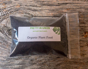 Organic Plant Food 5oz - Houseplant fertilizer, indoor plant essentials, gardening kit - Pretty in Green Plants