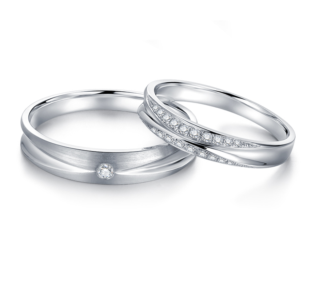 pto bands new in sj jewelove platinum couple india products style love