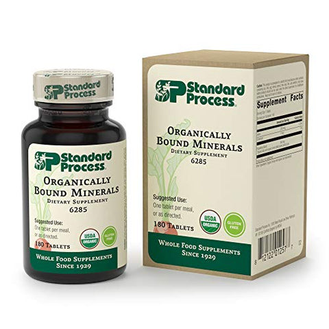 Organically Bound Minerals 90 ct Standard Process