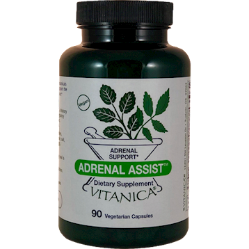 Adrenal Assist <BR> 90 ct Vitanica