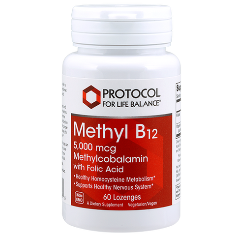 Methyl B12 5000 mcg <BR> Protocol 60 lozenges