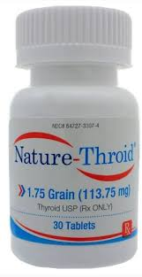 Nature-Throid 1 3/4 grain, 113.75 mg <BR> 31 Ct