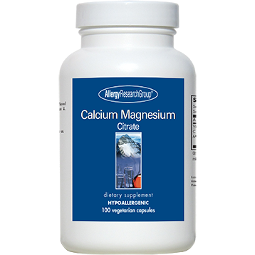 Calcium Magnesium Citrate 100/100 mg <BR> 100 ct AllergyResearch