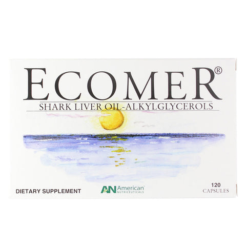 Ecomer Shark Liver Oil 120 caps