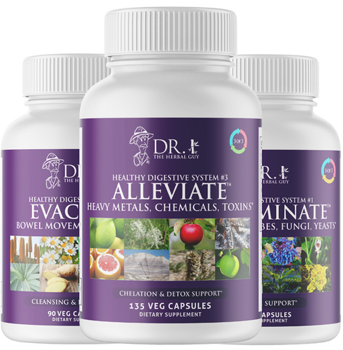 THREE PART INTESTINAL CLEANSE