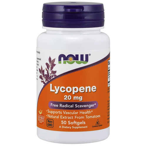 Lycopene 20 mg<BR> 50 ct NowFoods
