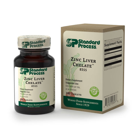 Zinc Liver Chelate 180 ct Standard Process