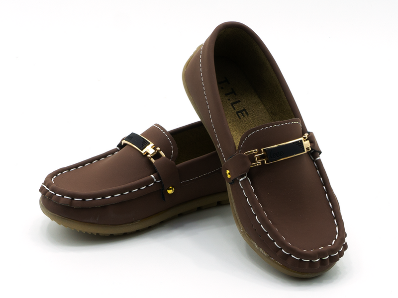 Kids Buckled Loafer