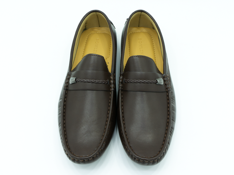ROPE STRAPPED LOAFERS