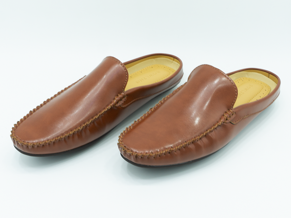 PLAIN HALF LOAFERS