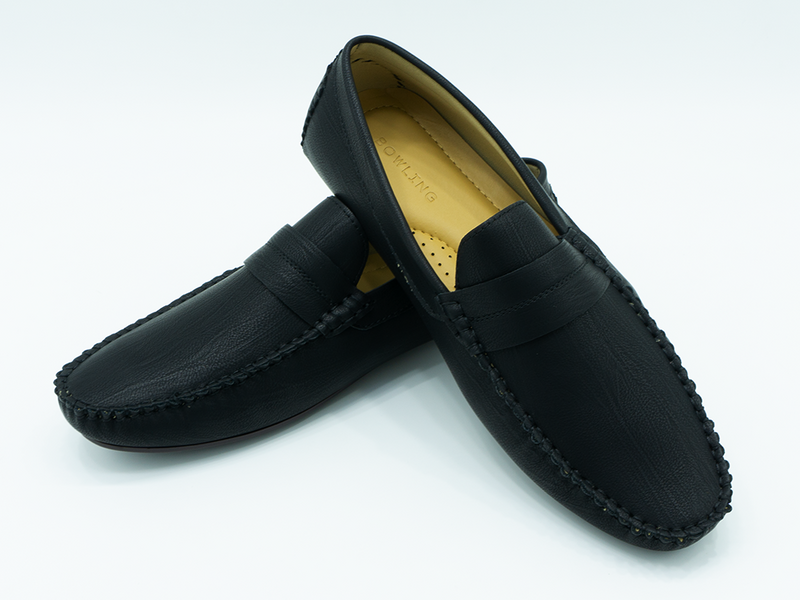 STRAPPED LOAFERS