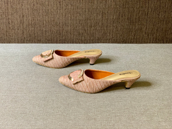 Small Heeled Mules