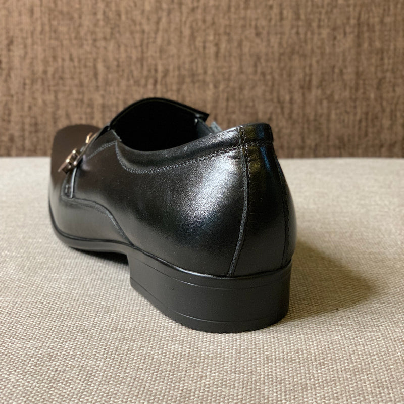 Buckle Strap Leather Formals