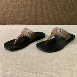 Slip On Buckled Sandals
