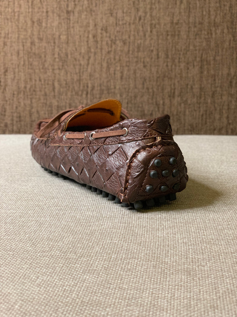 Braided Driving Loafers