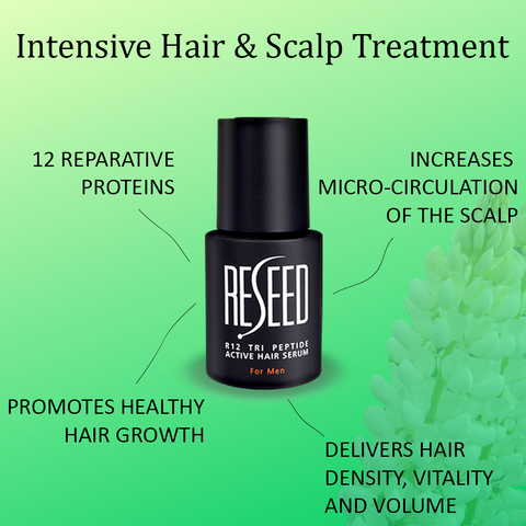 Reseed R12 Tri Peptide Active Hair Serum for Men