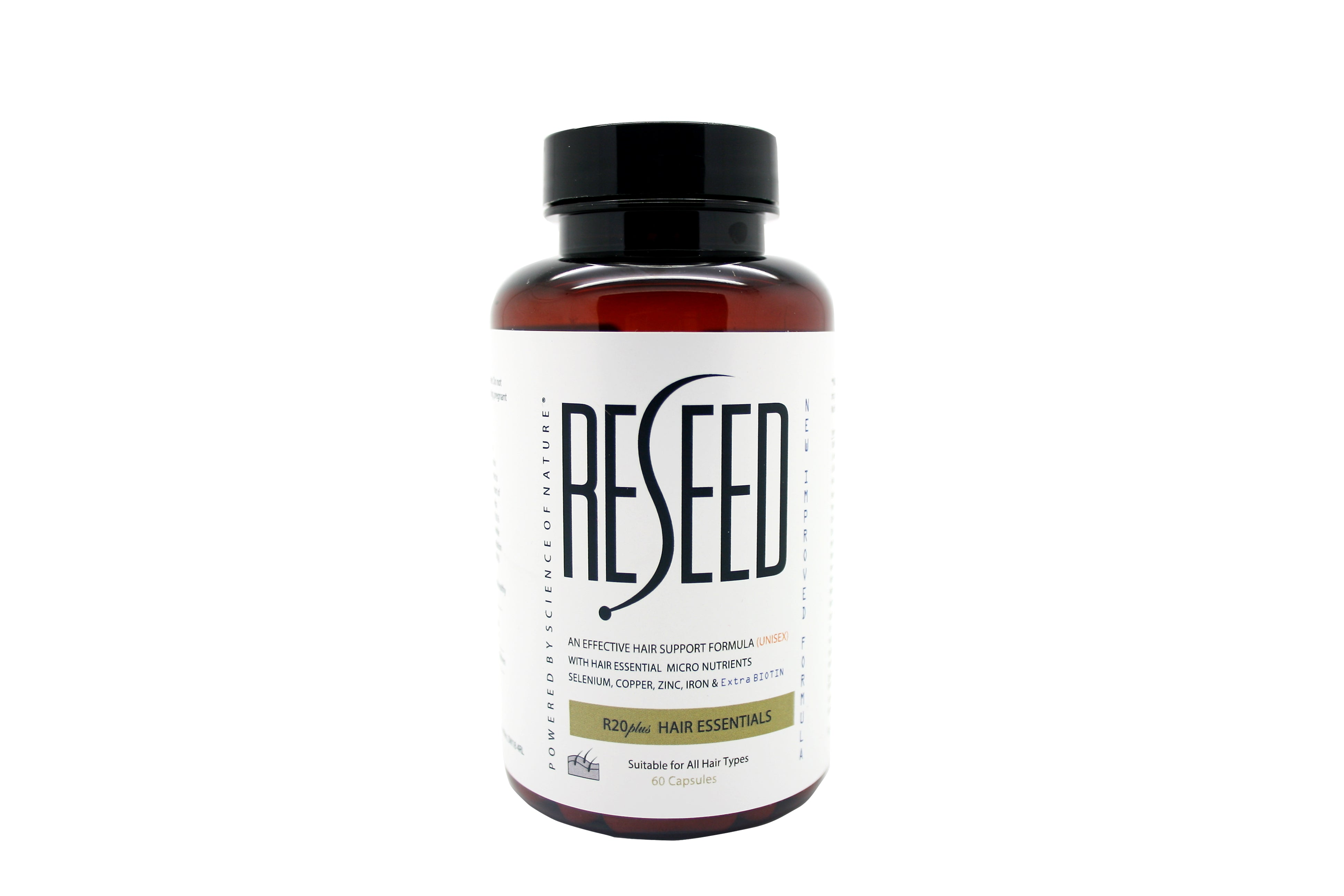 Reseed R20 Unisex Hair Supplements (Vegan) - Reseed Hair Care