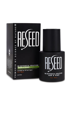 RESEED R8 Botanical Solution for Men 50 ml - Reseed Hair Loss Range for Men and Women