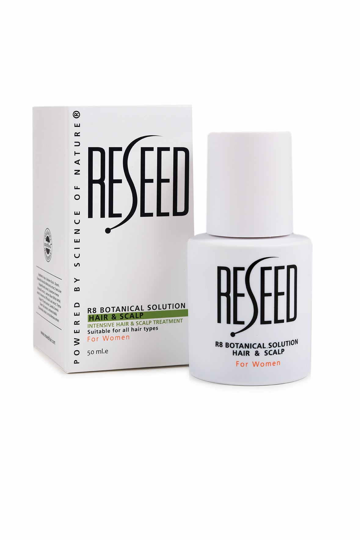 RESEED R8 Botanical Solution for Women 50 ml - Reseed Hair Loss Range for Men and Women