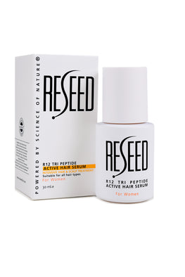 RESEED R12 Tri Peptide Active Hair Serum for Women 30 ml - Reseed Hair Care