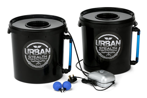 Stealth 20L Bubble Pots x2