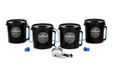 Stealth 20L Bubble Pot x4