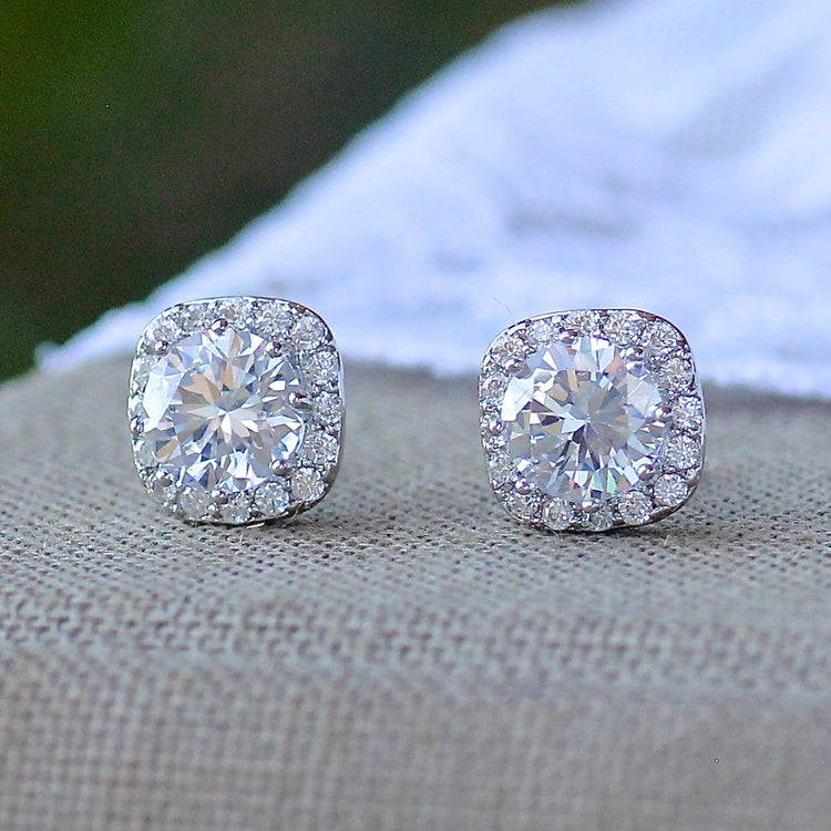 Crystal Stud Earrings, RIKKI