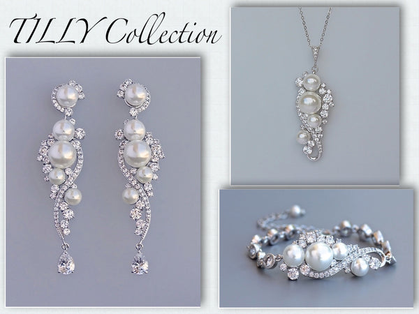 Tilly necklace, earrings and bracelet collection
