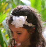 Flowergirl Hair Band, CAMILLE